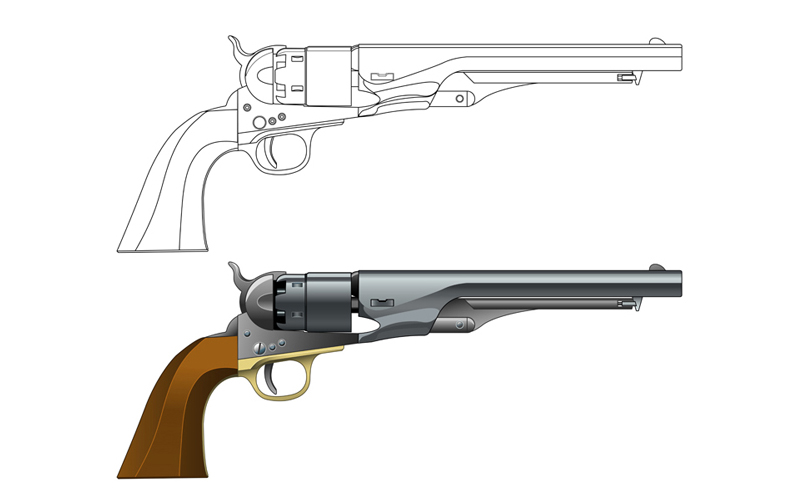 1860 Army Revolver