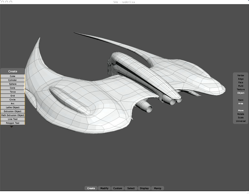 Cylon Raider Mk. II