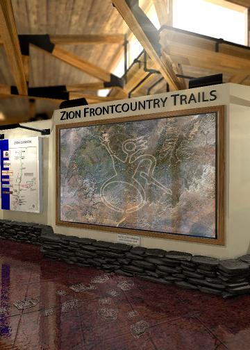 Zion National Park Lobby