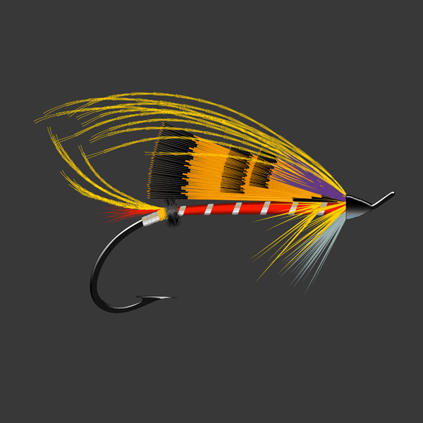Salmon Fly - Durham Ranger